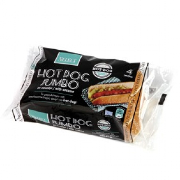 Hot Dog Jumbo 4pcs